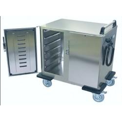 transportní vozík na gastronádoby EVT 2x 6 GN 1/1