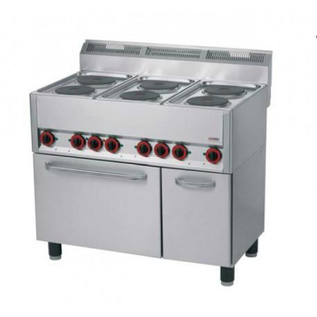 elektrický sporák 990x600 mm