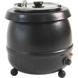 elektrický kotlík na polévku Toya 10 litrů černý