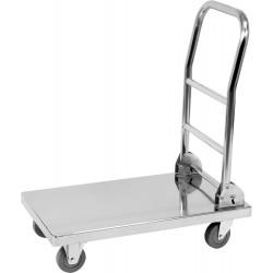vozík plošinový nerez YA