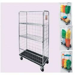 kontejnérový vozík na prádlo Besi univerzál Maxi