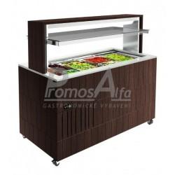 Chlazené bufetové vitríny DOGE ISOLA 1400