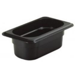 Gastronádoba polykarbonátová GN 1/6 100, černá