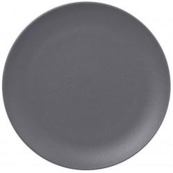 Talíř mělký 18cm - šedá