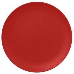 Talíř mělký 21cm - světle červená