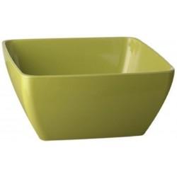 Miska melaminová čtvercová zelená 1,5 l