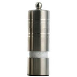 Madison mlýnek na sůl, nerez mat a transparent, 14 cm
