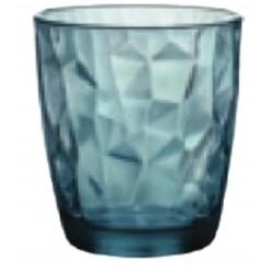 Sklenice Diamond 305 ml modrá