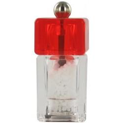 Mlýnek na sůl Cha Cha 5 cm červený