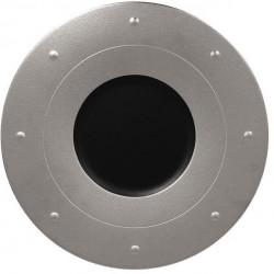 Metalfusion talíř kulatý pr. 31 cm, černo-stříbrný