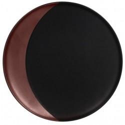 Metalfusion talíř hluboký pr. 27 cm, černo-bronzový