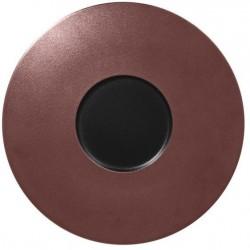Metalfusion talíř mělký Gourmet pr. 29 cm, černo-bronzový