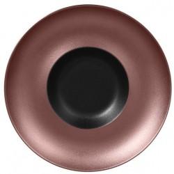 Metalfusion talíř hluboký Gourmet pr. 29 cm, černo-bronzový