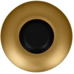 Metalfusion talíř hluboký Gourmet pr. 26 cm, černo-zlatý