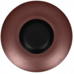 Metalfusion talíř hluboký Gourmet pr. 26 cm, černo-bronzový