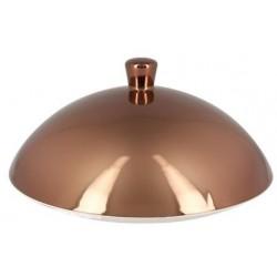 Metalfusion poklička pro talíř hluboký Gourmet pr. 15,5 cm, bronzová