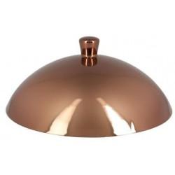 Metalfusion poklička pro talíř hluboký Gourmet pr. 13,6 cm, bronzová
