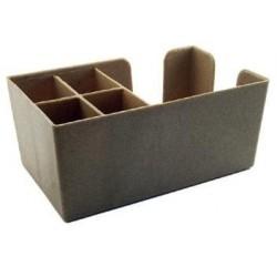 Bar Caddy dřevěný, roz. 25 x 25 x 10,5 cm