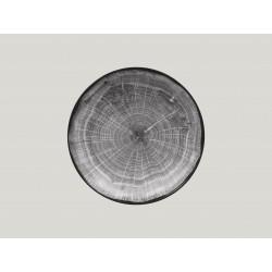 hluboký coupe talíř - šedá Woodart