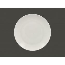 mělký coupe talíř - white Vintage