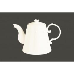 Konvice na čaj s víčkem - Princess White gold