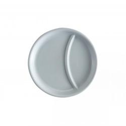 Talíř porcelánový dělený 21 cm