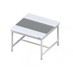 středový stůl šíře 1200 mm ST 60 s krájecími deskami