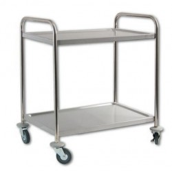 vozík servírovací nerez 2 policový