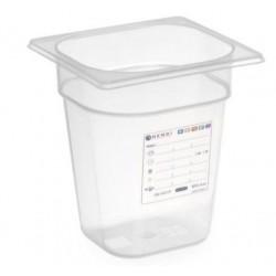 zásobník HACCP plast GN 1/6