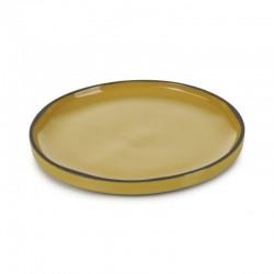 Talíř kulatý 15 cm - tumeric
