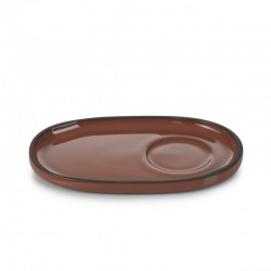 Podšálek 13,5×8,3 cm - cinnamon