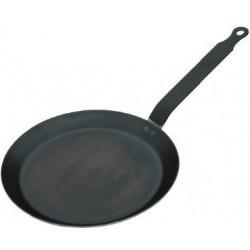 Pánev na palačinky - modrá ocel 24 cm