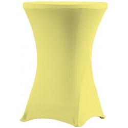 Ubrus pro stoly 81 cm - žlutá