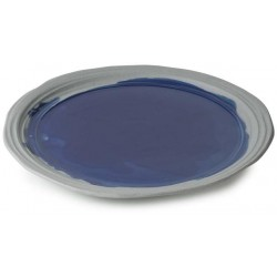Talíř jídelní 28,5 cm - modrý