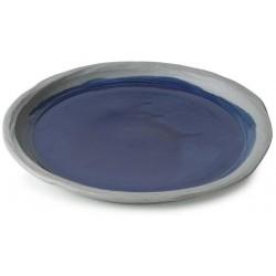 Talíř jídelní 23,5 cm - modrý