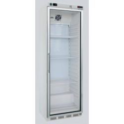 lednice RedFox DR 400 SS nerez prosklené dveře