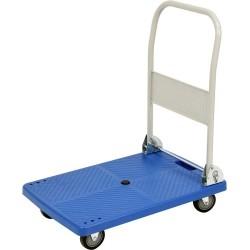 vozík plošinový skládací MP plast plocha
