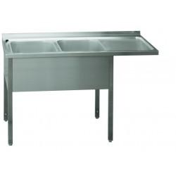 MSDOP/M-190x70x90/50x40 Stůl dvoudřez pr