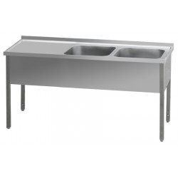 MSDOP-140x60x90/40x50 Stůl dvoudřez prav