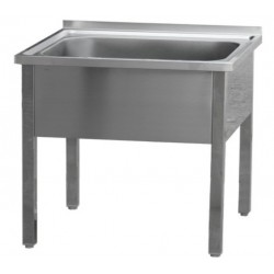 MSJ-140x70x90(128x51)Stůl mycí jednodř