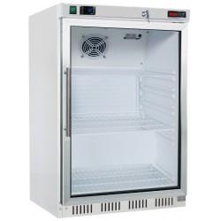 HF-200/G Mraznice bílá - prosklené dveře