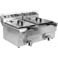 fritéza elektrická YA 2x 12 litrů s výpustí