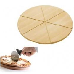 dřevěný talíř pod pizzu HE