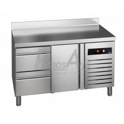 Chladící stůl Asber GTP-7-135-12 - agregát vpravo + dřez