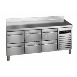Chladící stůl GTP-7-180-06 - agregát vpravo + dřez