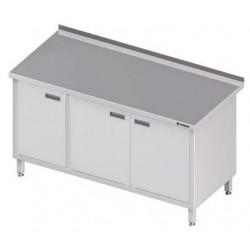 stůl ST 54 (55) s skříňkou a křídlovými dvířky