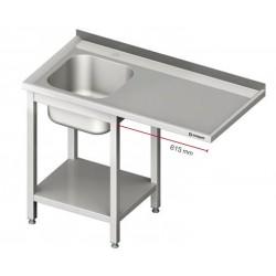 mycí stůl s dřezem RM a prostorem pro myčku nebo ledničku