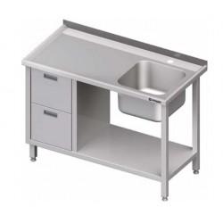 mycí stůl ST 99 (100) s dřezem, 2 šuplíky a policí