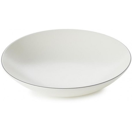 EQUINOXE talíř hluboký White Cotton pr. 24 cm